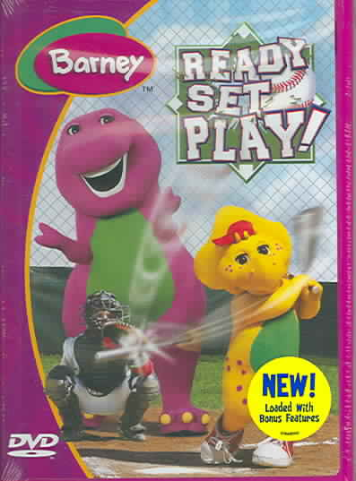 Barney Ready Set Play By Barney Dvd